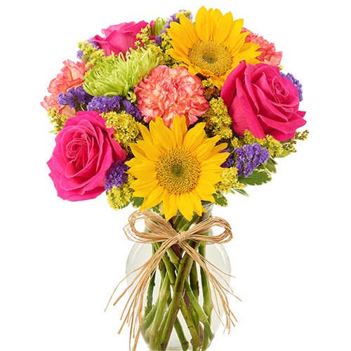 Homepage ericas flower shop sunshine bouquet mightylinksfo